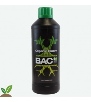 BAC ORGANIC BLOOM 500ML – FERTILIZANTE ESPECIAL FLORACIÓN ECO