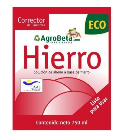 HIERRO ECO SPRAY 750 ML - LPU AGROBETA
