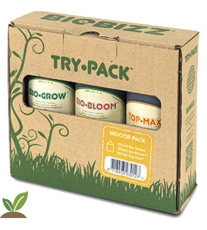 BIOBIZZ TRY-PACK ™ INDOOR. FERTILIZANTES ORGANICOS