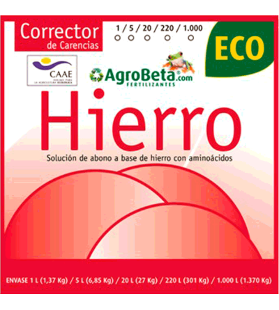 HIERRO ECO 50 ML - AGROBETA